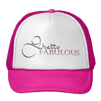 Ghetto Fabulous Pink Hat