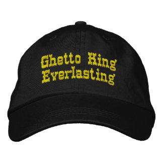Ghetto King Everlasting (Snapback - Black) Embroidered Hat