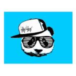 Ghetto panda post card