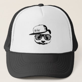 Ghetto panda trucker hat