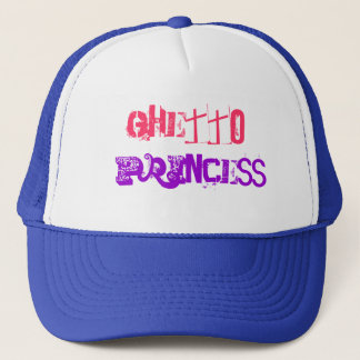GHETTO PRINCESS TRUCKER HAT