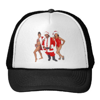 Ghetto Santa and his Elves from the Hood Cap