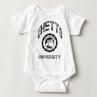 Ghetto University Baby Bodysuit