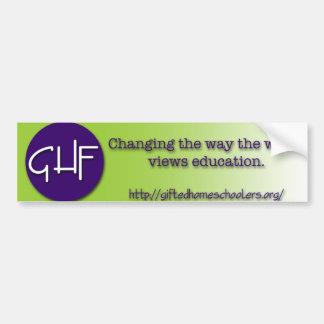 GHF Bumper Sticker
