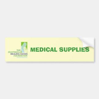 GHHF Logo, MEDICAL SUPPLIES Car Bumper Sticker