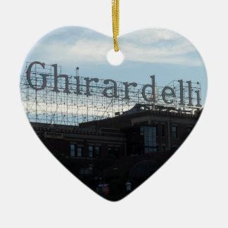 Ghirardelli Square- San Francisco Christmas Ornament