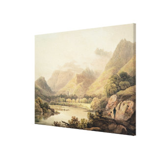 Ghirimeer, on the Upper Lake of Killarney Canvas Print