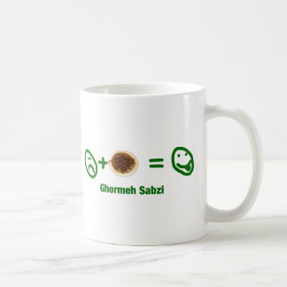 Ghormeh Sabzi Basic White Mug