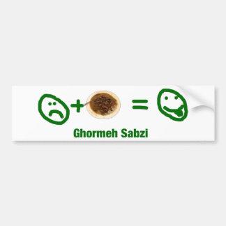 Ghormeh Sabzi Bumper Sticker