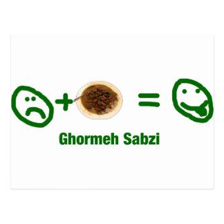 Ghormeh Sabzi Postcard