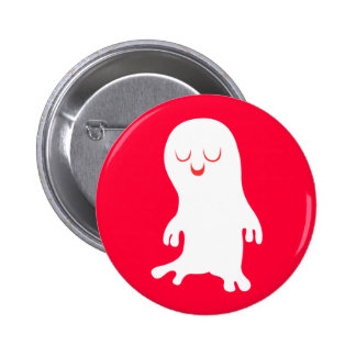 Ghost 6 Cm Round Badge