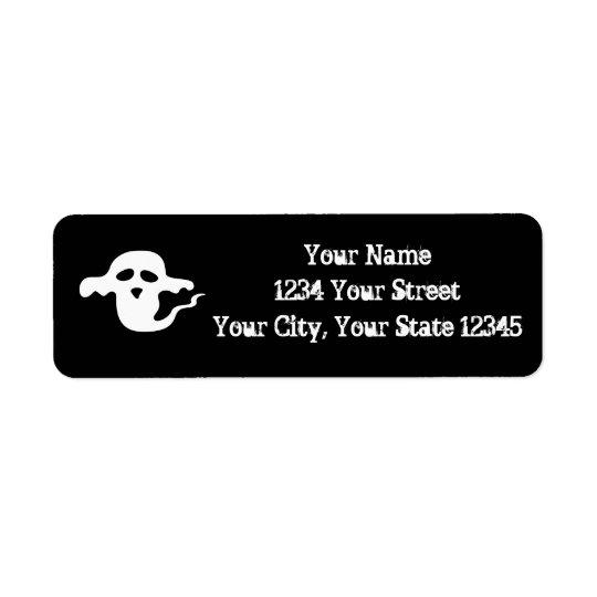 Ghost Address Label