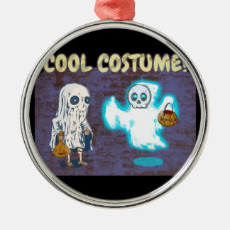 Ghost and Skeleton Costume Christmas Ornament