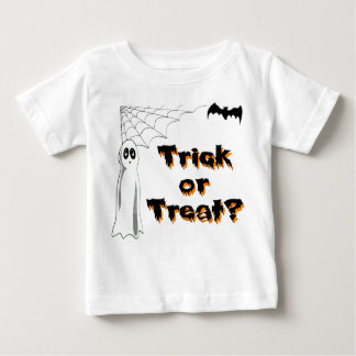 Ghost Bat Trick or Treat Baby T-Shirt