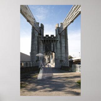 Ghost bridge print