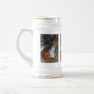 Ghost Cat Beer Stein