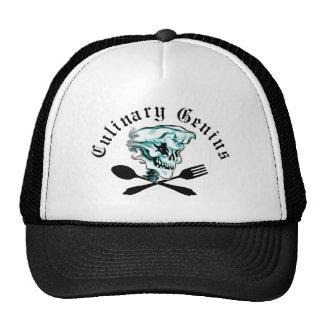 Ghost Chef Skull Trucker Hat