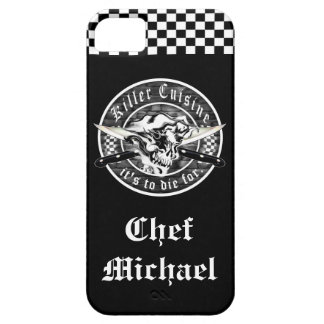 Ghost Chef Skull iPhone 5 Cases