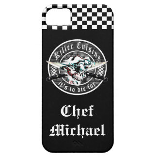 Ghost Chef Skull iPhone 5 Cover