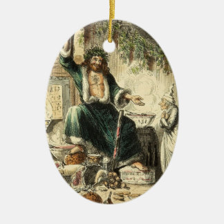 Ghost Christmas Carol Present Future Ornament