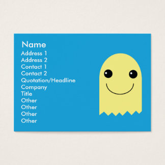 Ghost - Chubby Business Card
