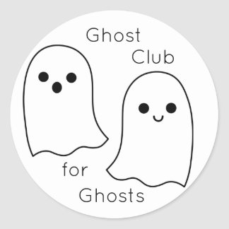 Ghost Club Stickers