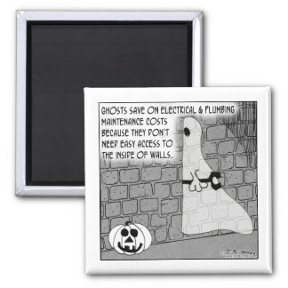 Ghost Contractors Easy Access Square Magnet