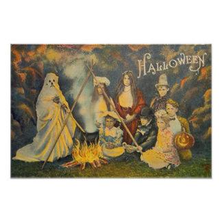 Ghost Cowboy Costume Jack O Lantern Pumpkin Photograph