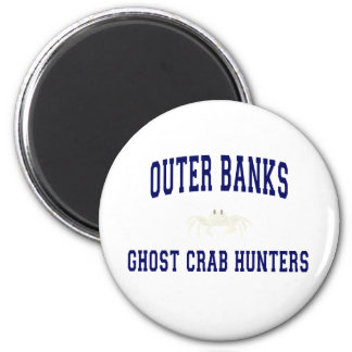 Ghost Crab Hunters 6 Cm Round Magnet