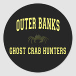Ghost Crab Hunters Round Stickers