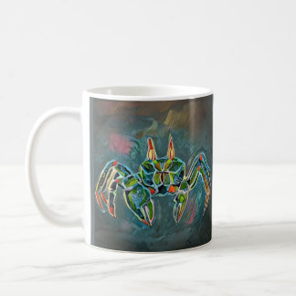 Ghost Crab Mug in Green