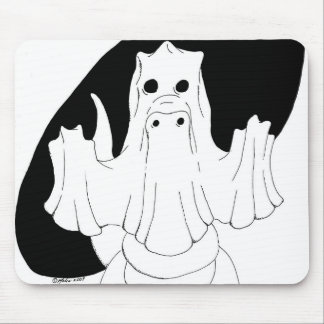 Ghost Dragon Mouse Pads