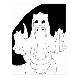 Ghost Dragon Postcard