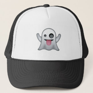 Ghost Emoji Trucker Hat