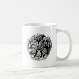 Ghost-faced bat basic white mug