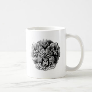Ghost-faced bat coffee mug