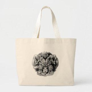 Ghost-faced bat tote bag