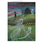 Ghost Friends Halloween Card by Molly Harrison