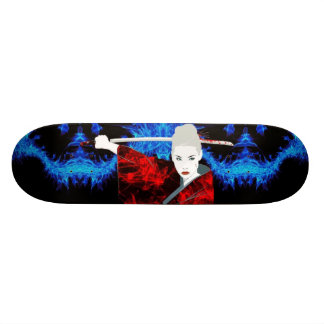 "Ghost Gear ""Beautiful Assassin"" Skateboard Deck"