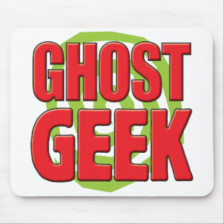 Ghost Geek Mouse Pads