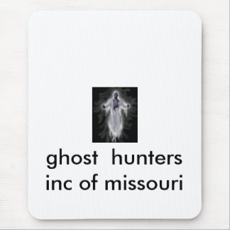 ghost, ghost  hunters  inc of missouri mouse pad