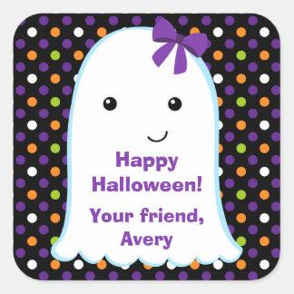 Ghost Girl | Kids Halloween Sticker