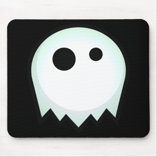Ghost Glow Mouse Pad
