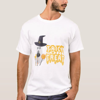 Ghost Goes Trick of Treat T-Shirt
