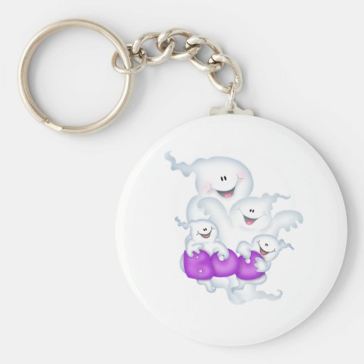 Ghost Group Key Chains