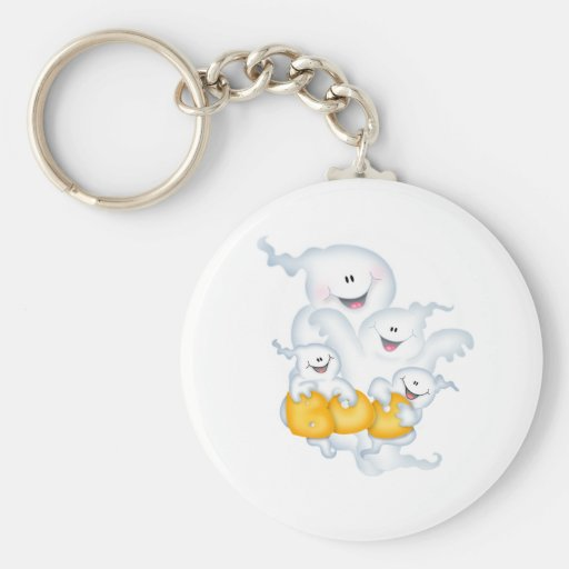 Ghost Group Keychains