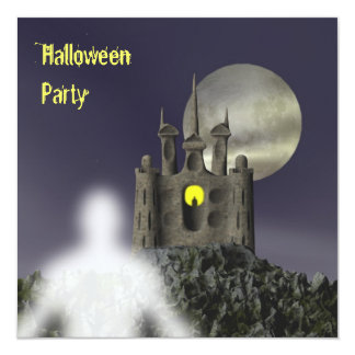 Ghost - Halloween Party Invitation