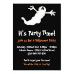 Ghost Halloween Party Invitations