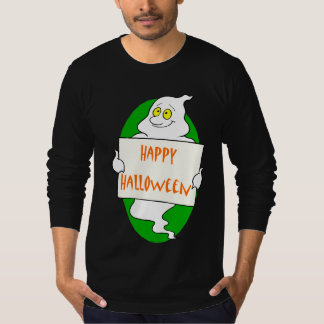 Ghost Halloween Sign T-shirts
