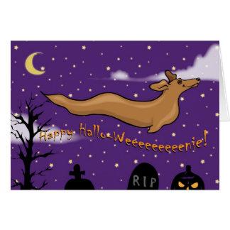 Ghost Halloweener Card